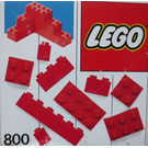LEGO Extra Bricks Red Set 800-2