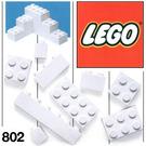 LEGO Extra Bricks White Set 802-2