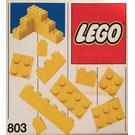 LEGO Extra Bricks Yellow Set 803-1
