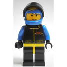 LEGO Extreme Team, Blue Helmet with Flames Minifigure