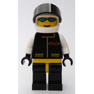 LEGO Extreme Team Member with White Flame Helmet Minifigure
