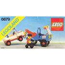 LEGO Exxon Tow Truck Set 6679-2
