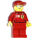 LEGO F1 Ferrari Engineer with Torso Stickers Minifigure