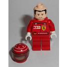 LEGO F1 Ferrari M. Schumacher with Helmet and Torso Stickers Minifigure