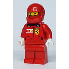 LEGO F1 Ferrari Pit Crew Member with Vodafone/Shell Stickers on Torso Minifigure