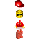 LEGO F1 Ferrari Record Guy with Torso Stickers Minifigure