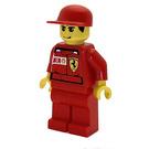 LEGO F1 Ferrari Record Guy with Torso Stickers Minifigure