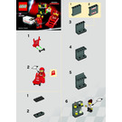LEGO F1 Shell Pit Crew Set 30196 Instructions