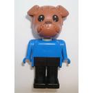 LEGO Fabuland Bertie Bulldog Minifigure