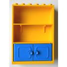 LEGO Fabuland Cupboard 2 x 6 x 7 with Blue Doors