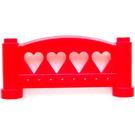LEGO Fabuland Fence 1 x 6 x 2 Rounded