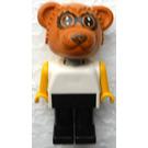 LEGO Fabuland Figure Raccoon 4 Minifigure