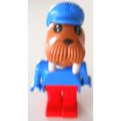 LEGO Fabuland Figure Walrus 2 Minifigure