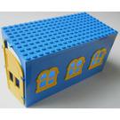 LEGO Fabuland Garage Block with Yellow Windows and Yellow Door