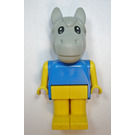 LEGO Fabuland Henry Horse Figure