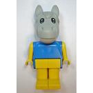 LEGO Fabuland Henry Horse Minifigure