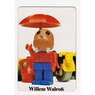LEGO Fabuland Memory Game Card n° 6 (German version)