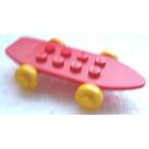 LEGO Fabuland Skateboard Assembly with Wheels