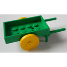 LEGO Fabuland Wheelbarrow (2 Wheels)