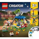 LEGO Fairground Carousel Set 31095 Instructions