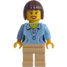LEGO Fairground Mixer Lady with Minifigure