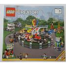 LEGO Fairground Mixer Set 10244 Instructions