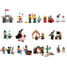 LEGO Fairytale and Historic Minifigure Set 9349
