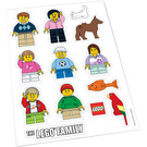 LEGO Family Car Stickers (850794)
