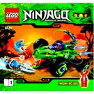 LEGO Fangpyre Truck Ambush Set 9445 Instructions