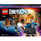 LEGO Fantastic Beasts and Where to Find Them: Play the Complete Movie Set 71253 Instructions