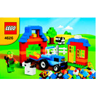 LEGO Farm Brick Box Set 4626 Instructions