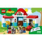 LEGO Farm Pony Stable Set 10868 Instructions