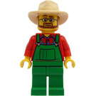 LEGO Farmer with Beard and Glasses Minifigure