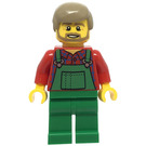 LEGO Farmer with Green Overalls Minifigure