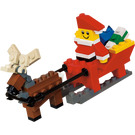 LEGO Father Christmas with Sledge Building Set 40010