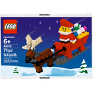LEGO Father Christmas with Sledge Building Set 40010 Packaging