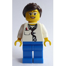 LEGO Female Doctor with Glasses Minifigure