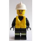 LEGO Female Fire Boat Fire Fighter Minifigure