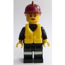 LEGO Female Fire Fighter Minifigure