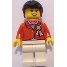 LEGO Female jockey with rosette Minifigure