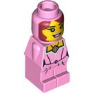 LEGO Female Lego Champion with Pink Dress Microfigure