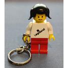 "LEGO Female ""Legoland"" on torso key chain"