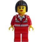 LEGO Female Paramedic with Bob Cut Hair Minifigure