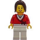 LEGO Female Passenger with Red Wrap Top Minifigure