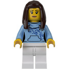 LEGO Female Pizza Van Customer Minifigure