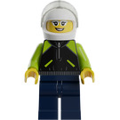 LEGO Female Porsche Racing Driver Minifigure
