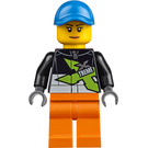 LEGO Female Powerboat Truck Driver Minifigure