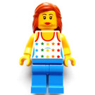 LEGO Female, Shirt with Rainbow Stars Minifigure