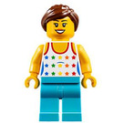 LEGO Female Skateboarder Minifigure
