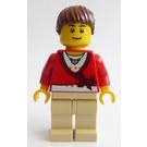 LEGO Female Train Passenger Minifigure